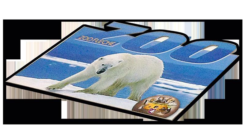 carte postale découpée personnalisée