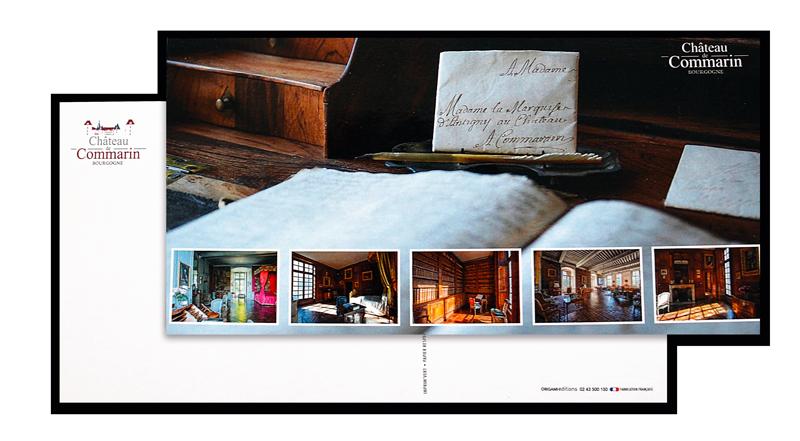 carte postale carrée personnalisée