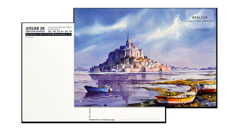 Carte postale Standard personnalisée. Carte postale photo personnalisée, produit dérivé boutique