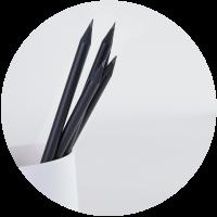 Crayon prestige noir