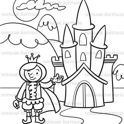 Dessin chateau prince