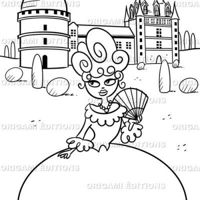 Dessin chateau princesse
