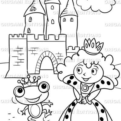 Dessin chateau reine