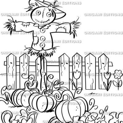 Dessin jardin potager
