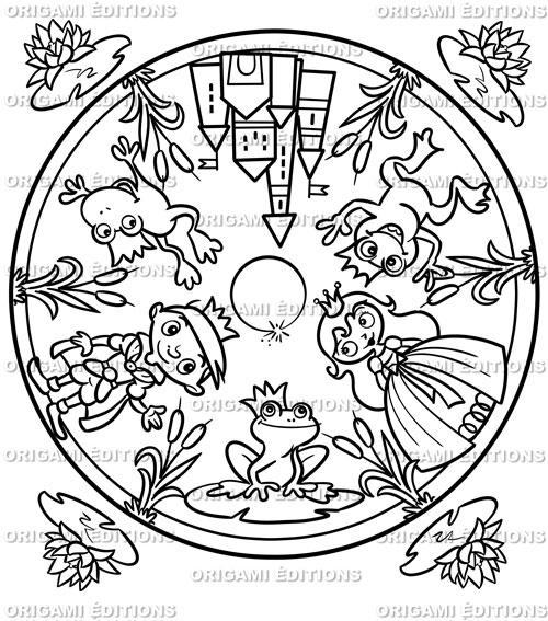 Coloriage Grenouille Mandala.Cahier De Coloriage Mandala Personnalise Boutique Souvenir