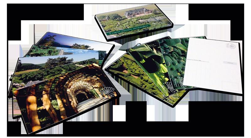 étui 10 cartes postales personnalisées