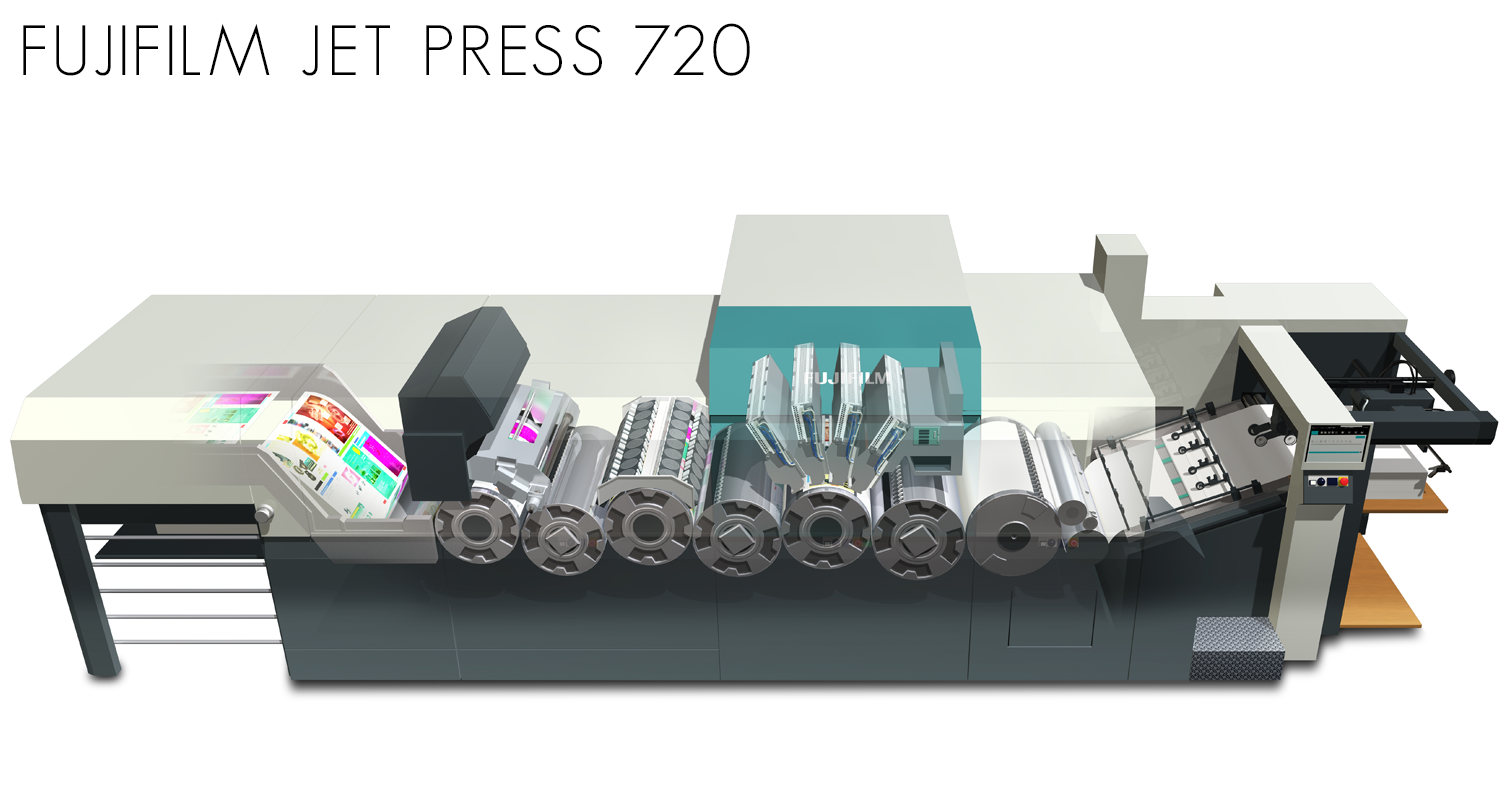 Fujifilm jet press 720