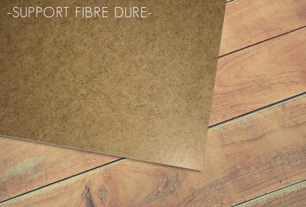 Support fibre dure